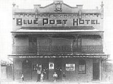 Blue Post Hotel, c.1925